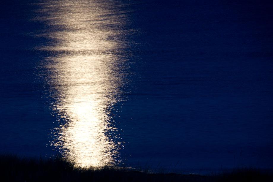 Moonlight in Swansea, Tasmania.